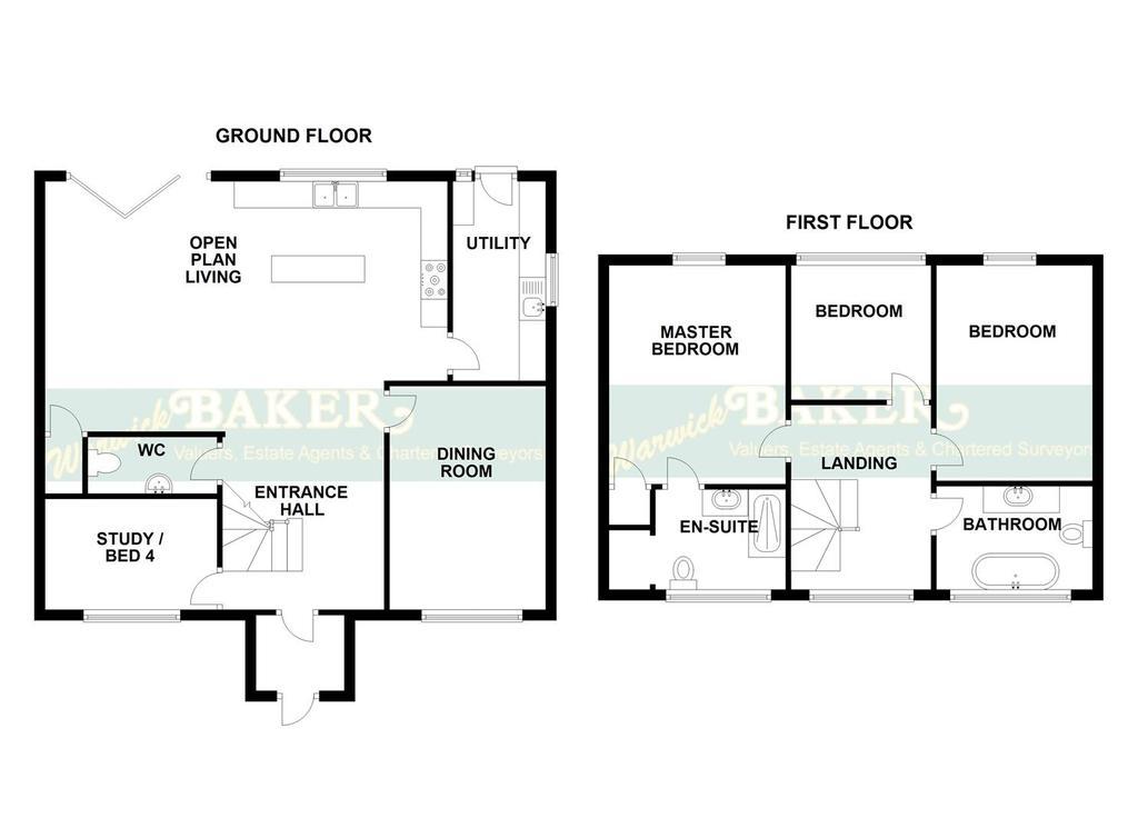 Floorplan 1 of 2: 2 SWALLOWS CLOSE, LANCING.jpg
