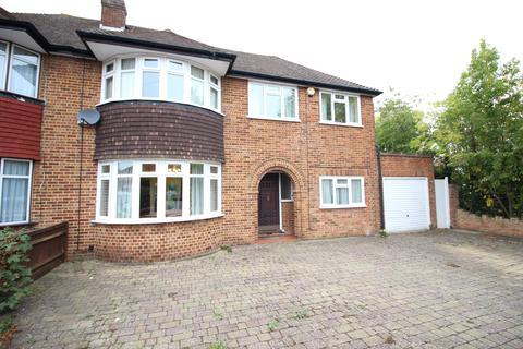 4 bedroom semi-detached house to rent - Downfield, Worcester Park  KT4