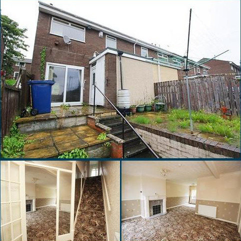 2 bedroom end of terrace house for sale - Aln Grove, Lemington, Newcastle upon tyne NE15