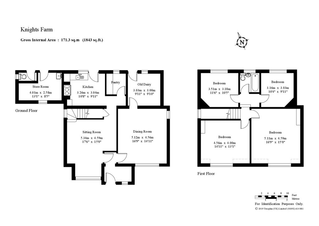 Floorplan: Farmhouse Floor Plan