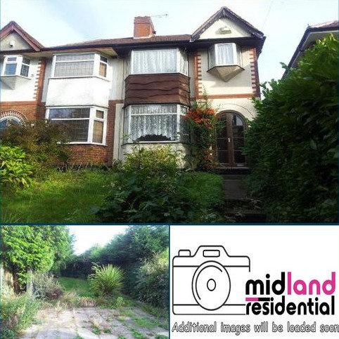 3 bedroom semi-detached house to rent - Kingstanding Road , Kingstanding, Birmingham  B44