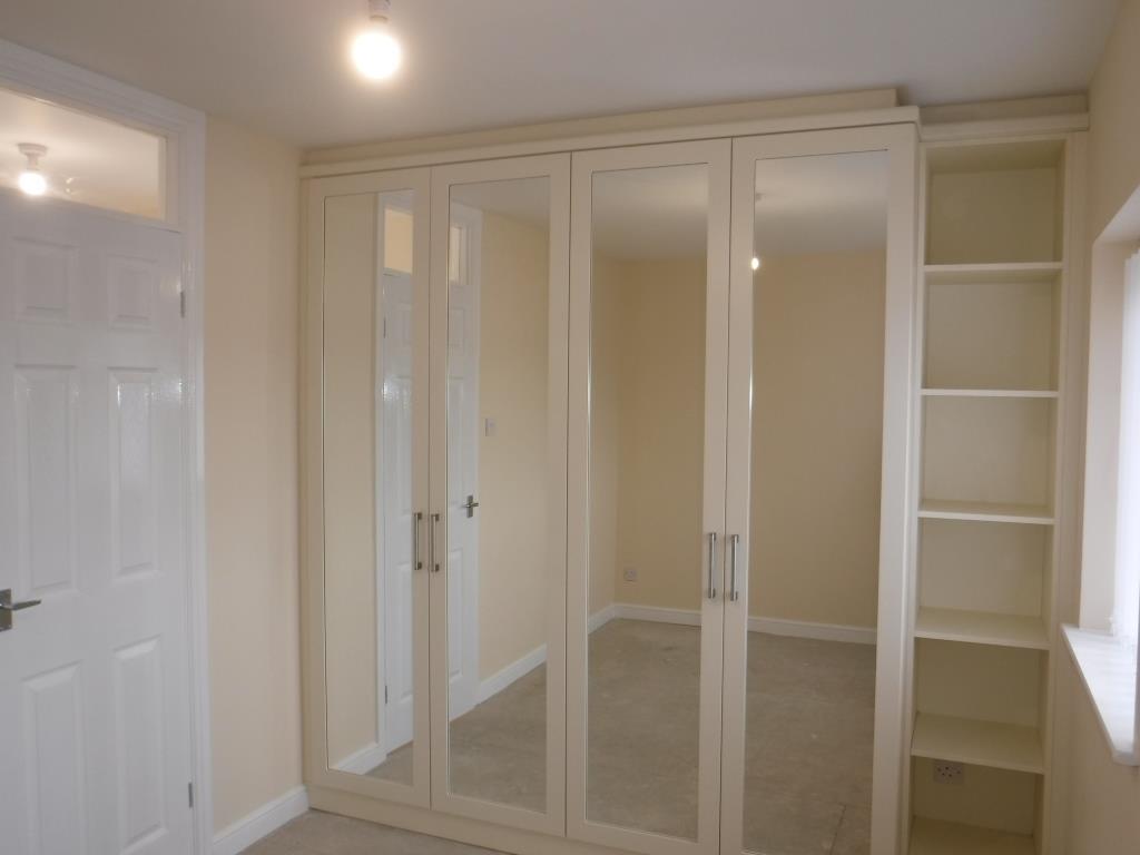 Bedroom two   rear: