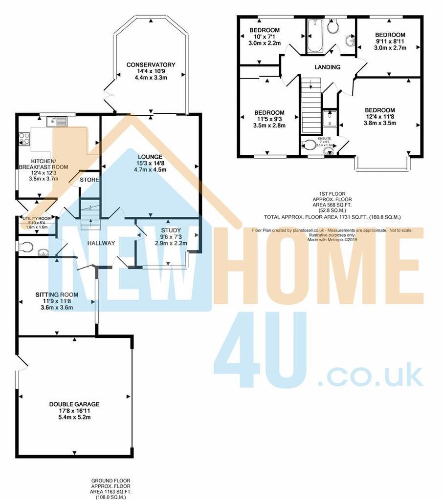 Floorplan 1 of 2: 36 Caerphilley Road FP 2.jpg