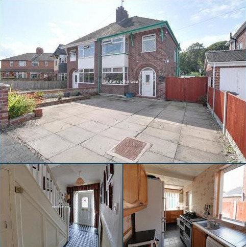 3 bedroom semi-detached house for sale - Lawton Avenue, church Lawton