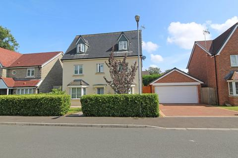 5 bedroom detached house for sale - Meadowfield Way, Morganstown