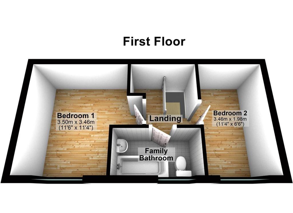 Floorplan 2 of 2: 17 Kelling Close, Luton   Floor 1.jpg