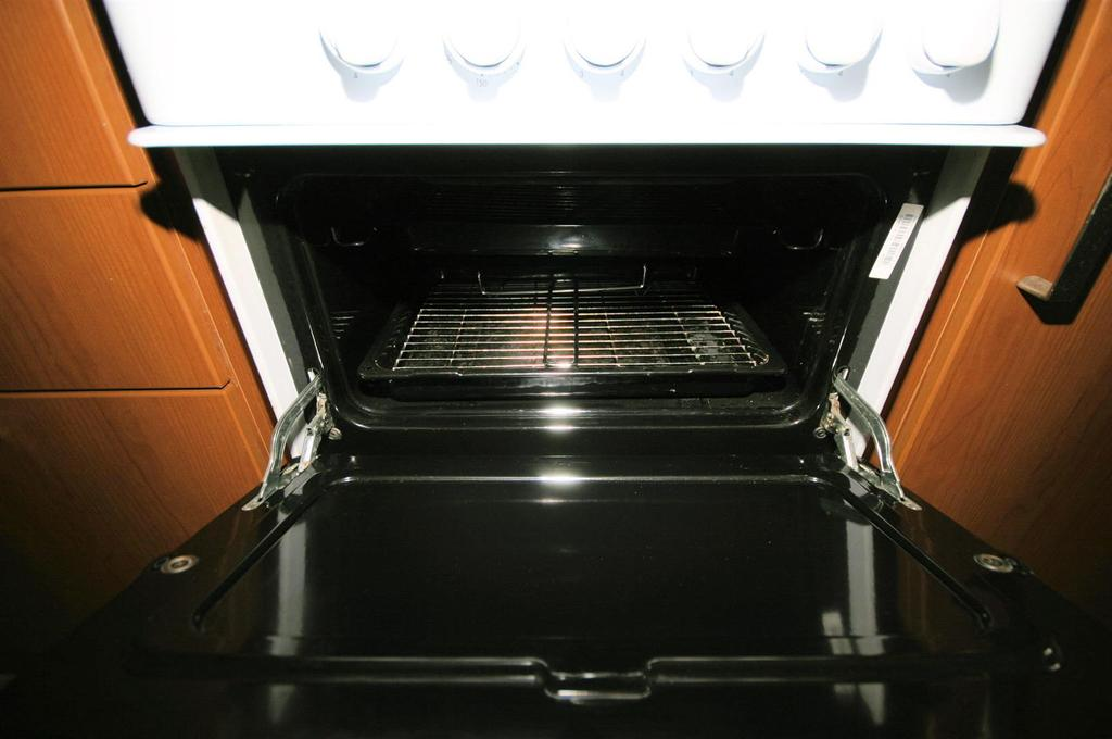 View of Top Oven