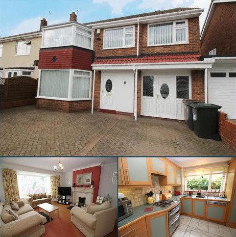 4 bedroom semi-detached house for sale - Cleehill Drive, Preston Grange, North Shields