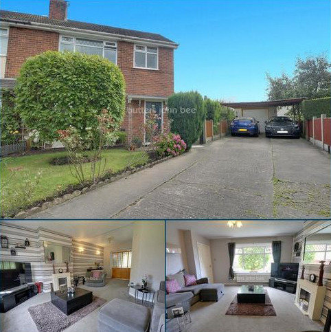 3 bedroom semi-detached house for sale - Bailey Close, Crewe