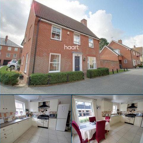 3 bedroom link detached house for sale - Cedar Walk, Needham Market, Ipswich