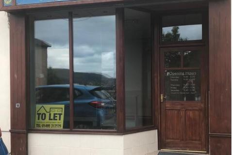 Shop to rent - Worcester Street, Brynmawr, NP23