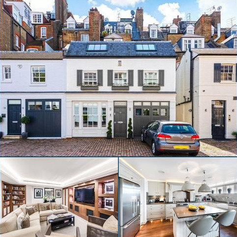 3 bedroom house to rent - Pont Street Mews, London