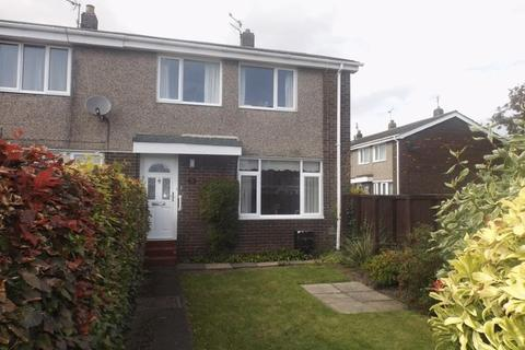 3 bedroom end of terrace house for sale - The Gables, Widdrington