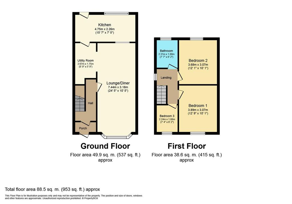 Floorplan: 2 DFloor Plan.JPG