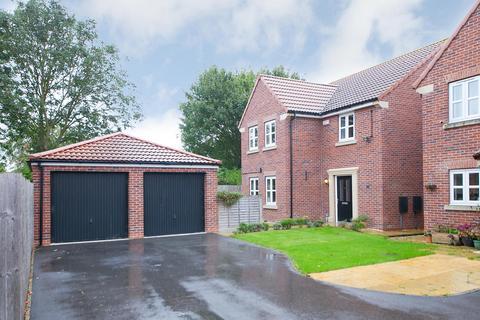 3 bedroom detached house for sale - Amos Drive, Pocklington, York, North Yorkshire, YO42 2BS