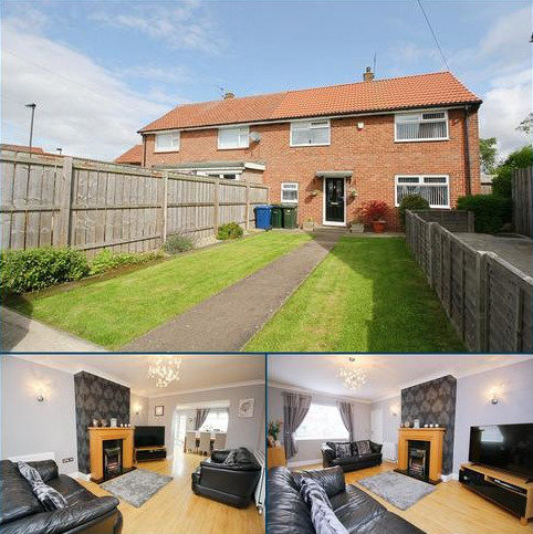 4 bedroom semi-detached house for sale - Naworth Drive, Hillheads, Newcastle upon Tyne NE5