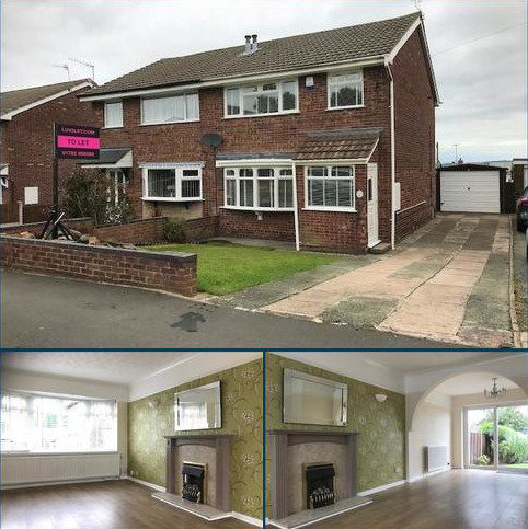 3 bedroom semi-detached house to rent - Hoveringham Drive, Eaton Park, Stoke on Trent ST2