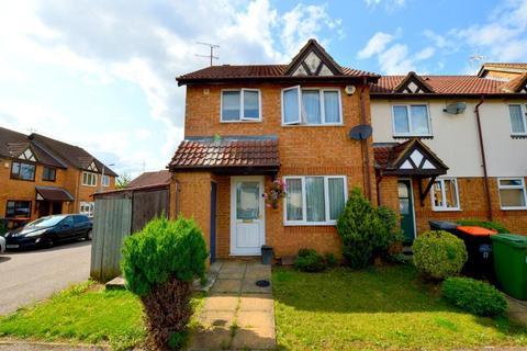 3 bedroom end of terrace house for sale - Chalkdown, Bushmead, Luton, Bedfordshire, LU2 7FH