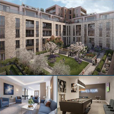 2 bedroom flat for sale - The Claves, Millbrook Park, Mill Hill, London, NW7