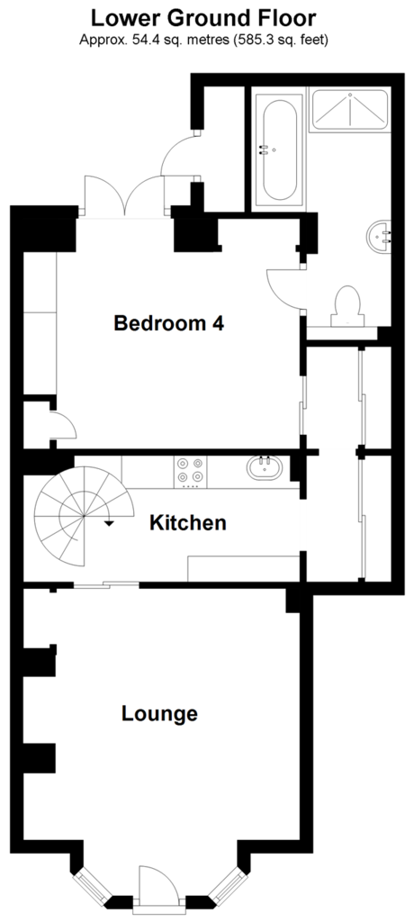Floorplan 3 of 4: Lower Ground Floor