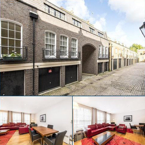 3 bedroom terraced house for sale - Gloucester Gate Mews, London, NW1