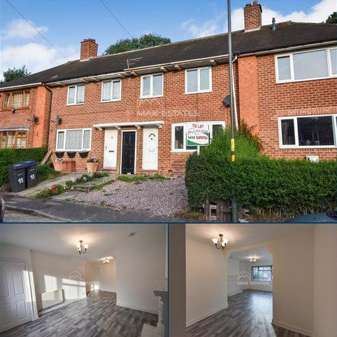 3 bedroom terraced house to rent - Fontley Close, Yardley Wood, Birmingham B26