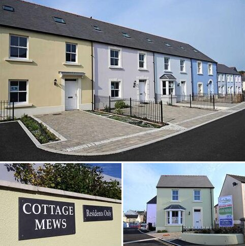 3 bedroom terraced house for sale - Cottage Mews, Church Park, Tenby