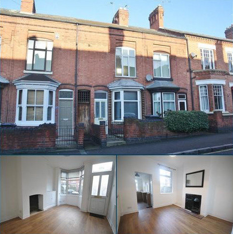 2 bedroom terraced house to rent - Clarendon Park Road, Clarendon Park, Leicester LE2