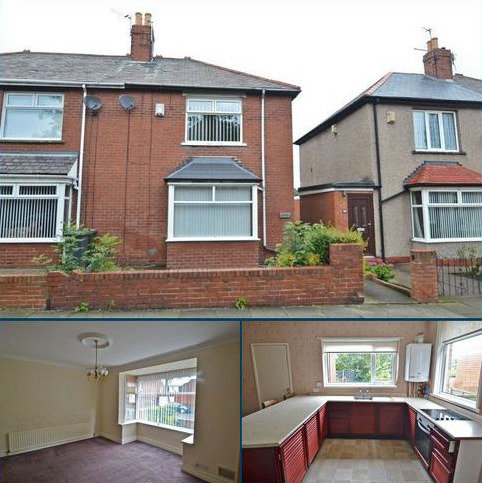 3 bedroom semi-detached house for sale - Queen Alexandra Road West, North Shields