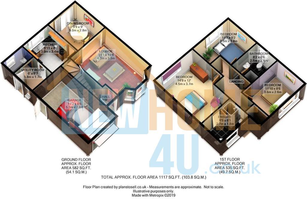 Floorplan 2 of 2: 7 Cwrt Brenig FP 1.jpg