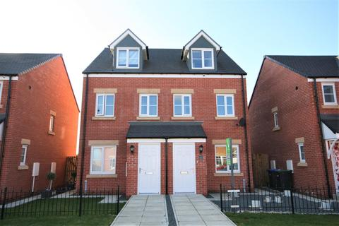 3 bedroom townhouse for sale - Buckingham Walk, Newfield, Chester Le Street
