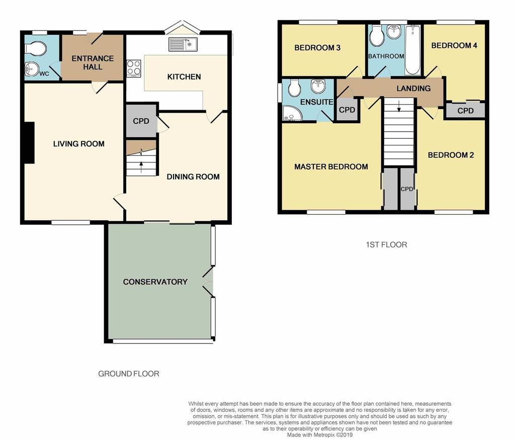 Floorplan: 7 Southwell Close Beverley print.JPG