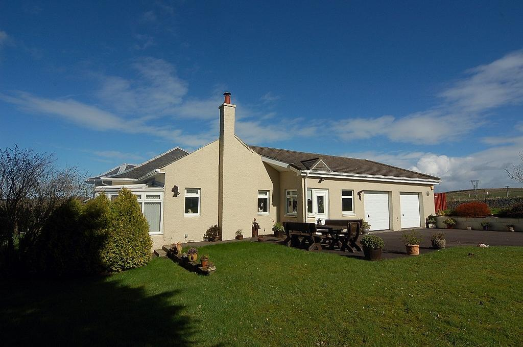 3 Bedrooms Detached Bungalow for sale in Per Ardua, Hollybush, By Ayr, Ayrshire, KA6 7ED