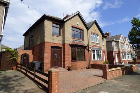 3 bedroom semi-detached house for sale - Queen Alexandra Road West, North Shields, Tyne and Wear, NE29 9AH