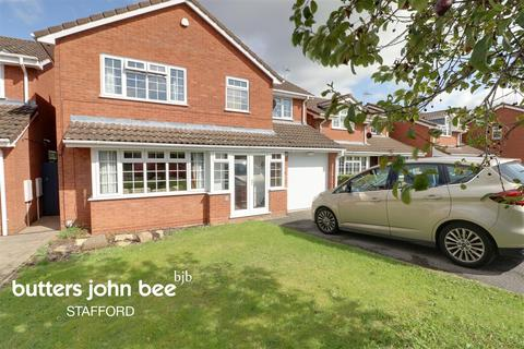 4 bedroom detached house for sale - Edwin Close, Stafford