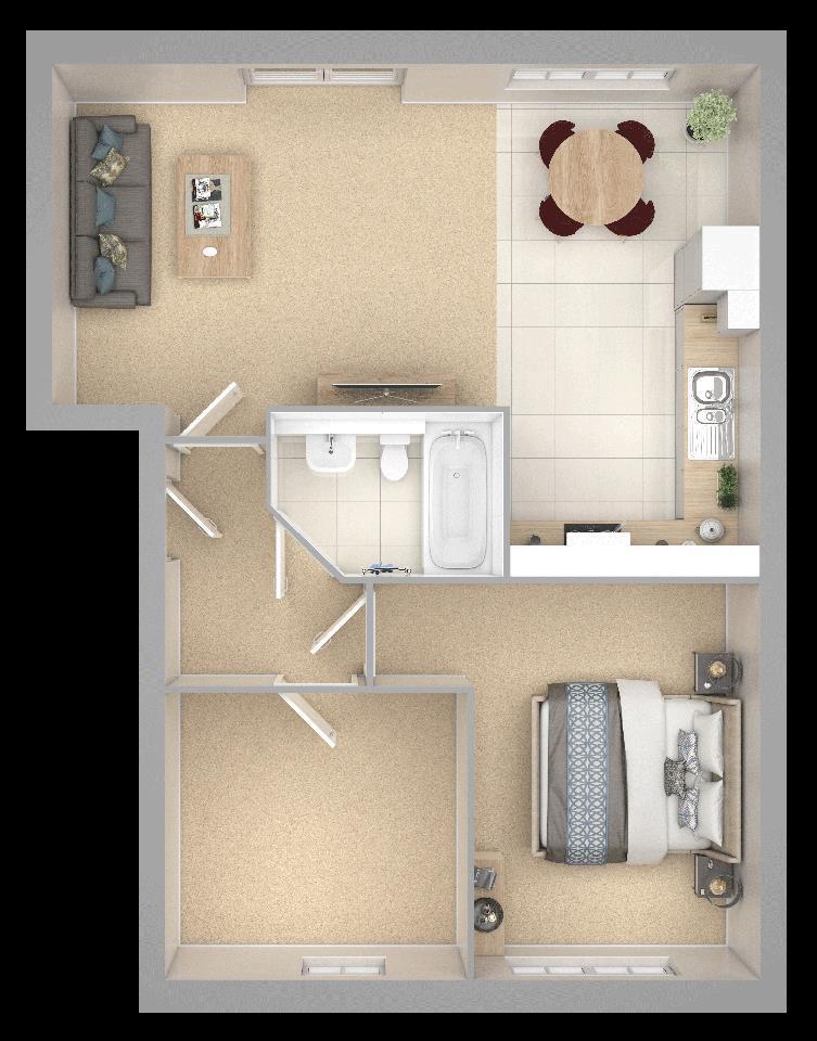 Floorplan: Griston Road Apartment Flat 12.png