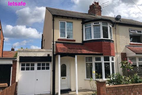 3 bedroom semi-detached house to rent - Hillfield, Monkseaton, Whitley Bay.  NE25 9AJ
