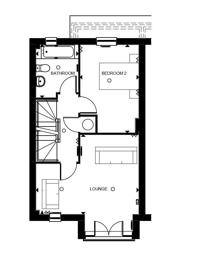 Floorplan 2 of 3: Formby First Floor
