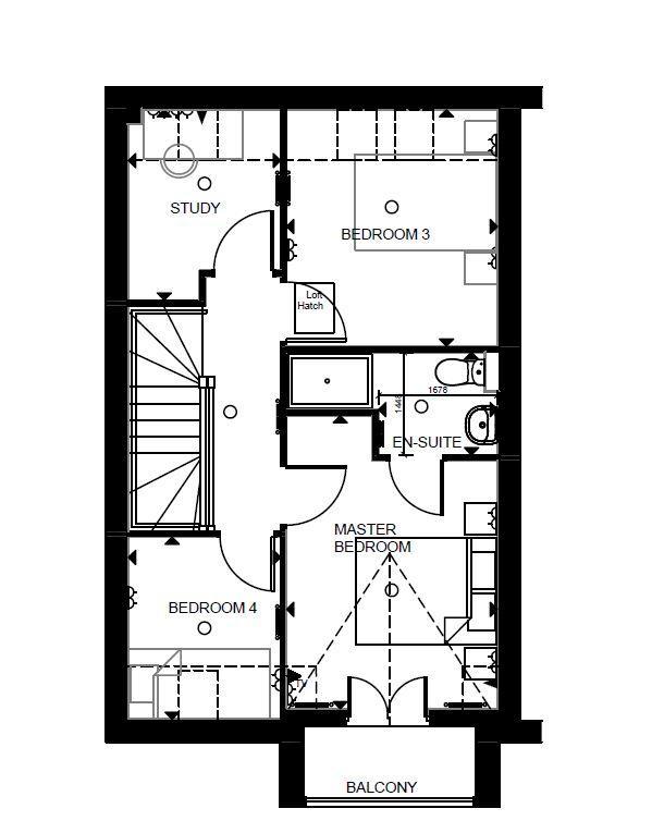Floorplan 3 of 3: Formby Second Floor
