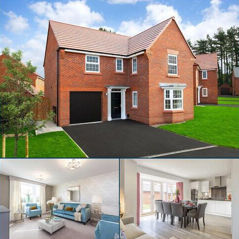 4 bedroom detached house for sale - Plot 111, DRUMMOND at Kingsbourne, Waterlode, Nantwich, NANTWICH CW5