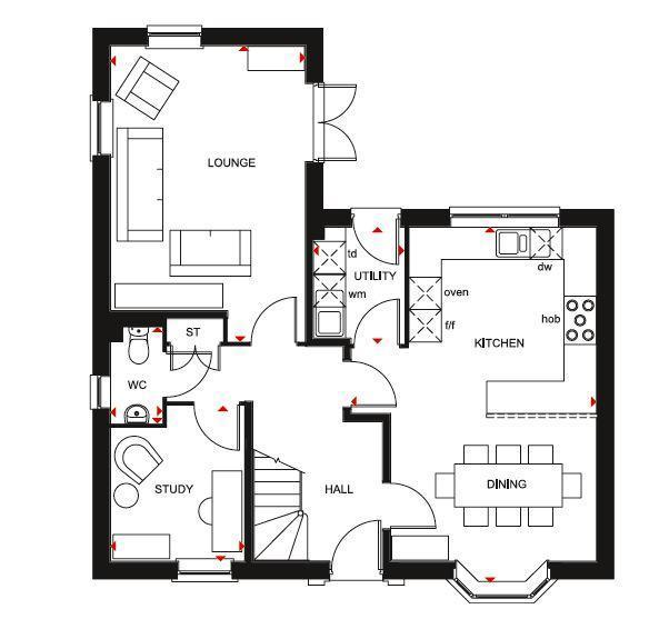 Floorplan 1 of 2: Avondale