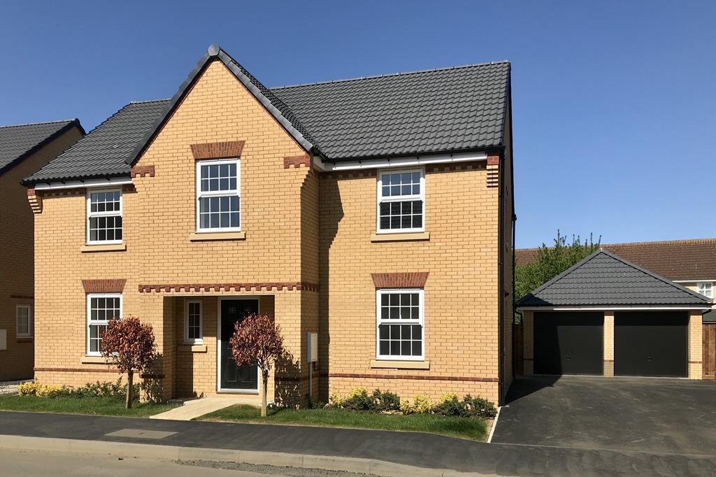 Plot 6 Winstone At David Wilson Homes At Warboys Mahaddie Way Warboys Huntingdon Pe28 4 Bed Detached House 474 495