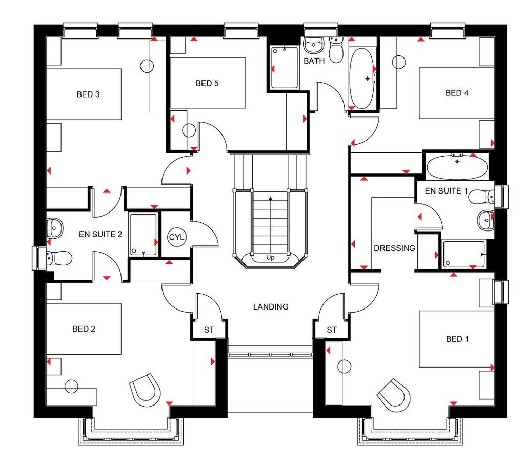Floorplan 1 of 2: Amherst