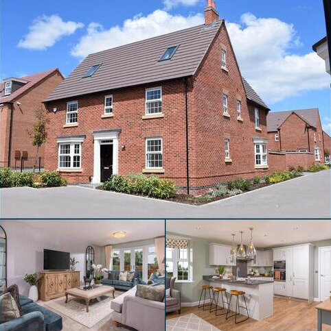 5 bedroom detached house for sale - Plot 415, Moorecroft at Wigston Meadows, Newton Lane, Wigston, WIGSTON LE18
