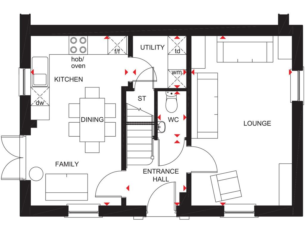 Floorplan 1 of 2: Gf