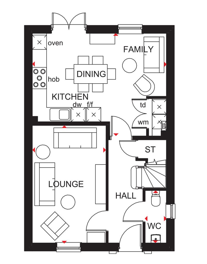 Floorplan 1 of 2: Ingleby GF