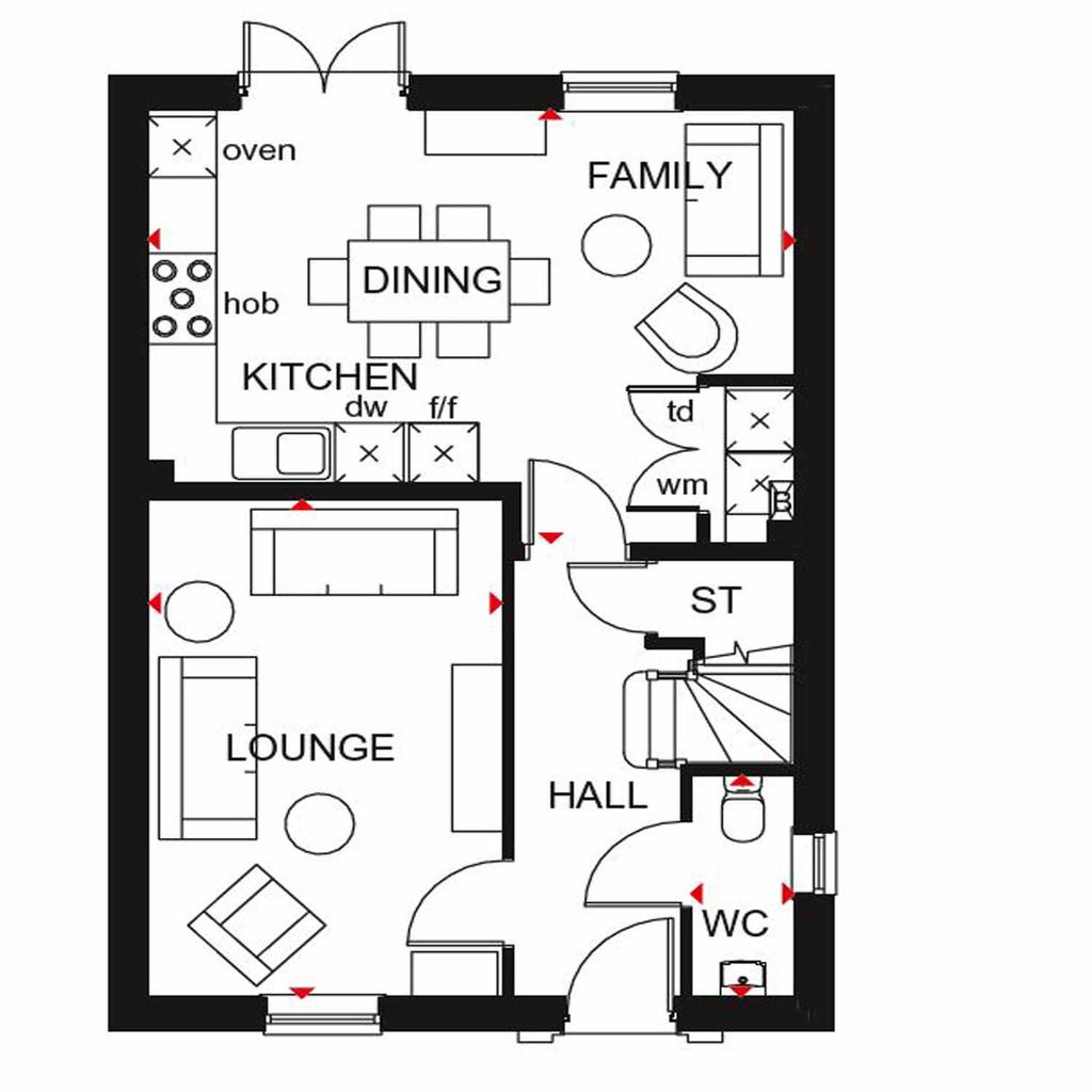 Floorplan 1 of 2: Ingleby GF floor plan