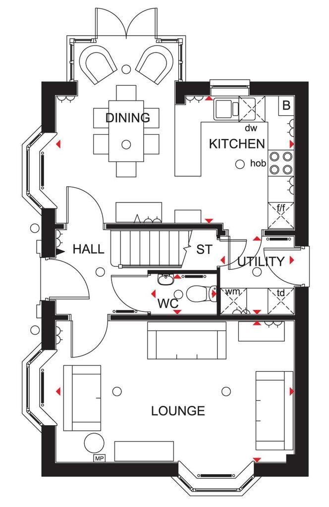 Floorplan 3 of 3: Hertford Ground Floor