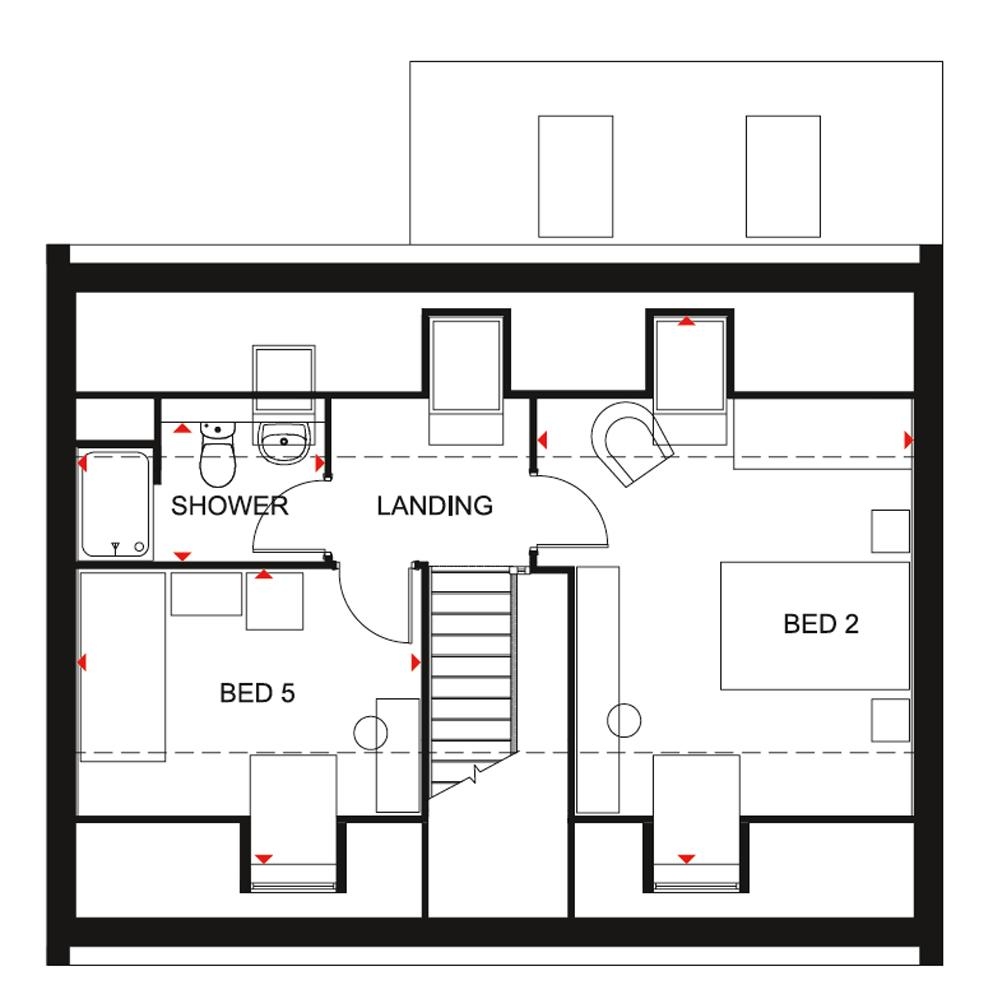 Floorplan 2 of 3: Emerson DWH SF