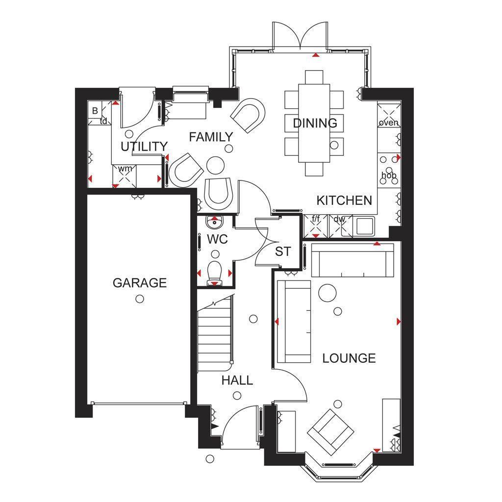 Floorplan 2 of 2: Millford Ground Floor